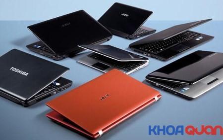 So sánh giá các loại laptop những thương hiệu đáng lựa chọn 2019
