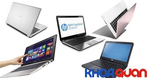 So sánh laptop hp và asus