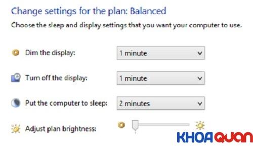 Mẹo tiết kiệm pin laptop giá rẻ khi dùng Windows 8 3