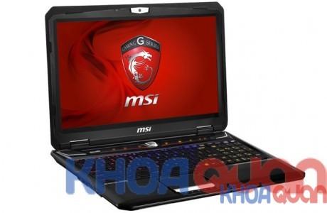 MSI giới thiệu laptop chơi game màn hình 3K siêu nét