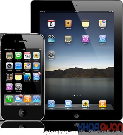 Thu mua iphone, ipad giá cao