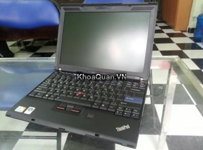 Lenovo Thinkpad X200 (Core 2 duo P8600 – Ram 2Gb – HDD 160Gb – 12 inch)