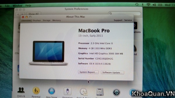 Macbook Pro MC700 15-13
