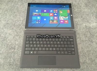 Laptop microsoft Surface Pro 3 (Core i5 4300U – Ram 4G – SSD 128G – 12 inch) mới 99%