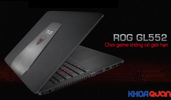 Những tiện lợi mà laptop xách tay ASUS GL552JX mang đến cho game thủ