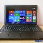 So sánh hai dòng laptop giá rẻ HP 14-r041TU và Toshiba C50