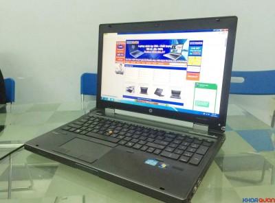 HP Elitebook 8560W (Core I7 2720QM – Ram 8G -HDD 500g – Nvidia QD 2000M – 15 inch) 98%