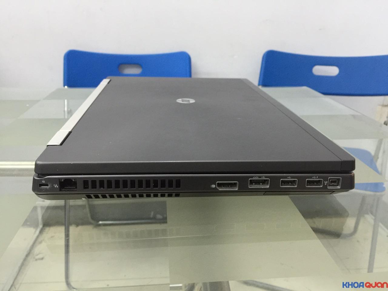 HP Elitebook 8760W-i7-17-4