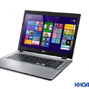 Giới thiệu mẫu laptop xách tay Aspire E 17 E5-711G-501W