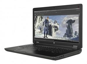 HP Zbook 17 ( I7 4800QM – R 16 – SSD 256 + SSHD 1T – NVIDIA K610M – 17″ – FHD)