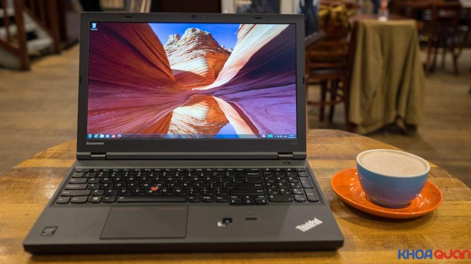 Dòng laptopIBM workstation W540 chuyên dụng cho đồ họa
