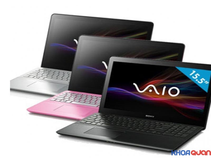 so sanh laptop dell và sony vaio