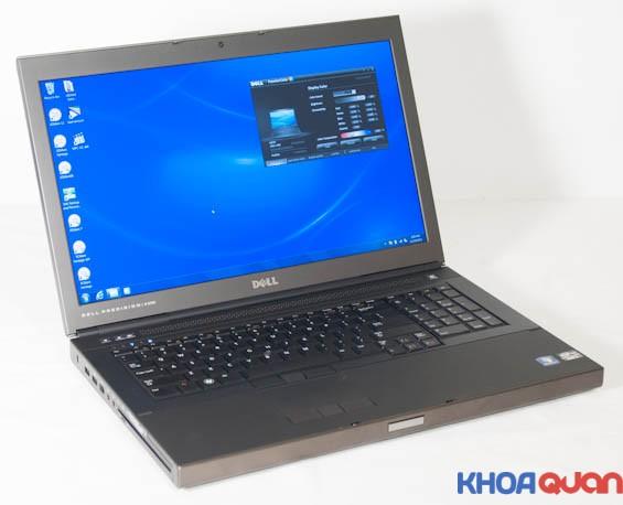 Giới thiệu mẫu laptop dell workstation m6700 chuyên về đồ họa
