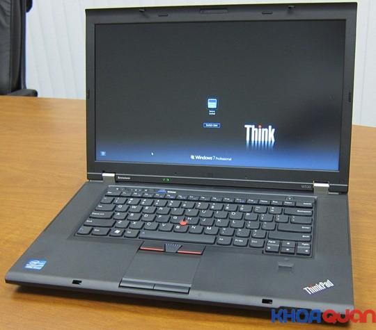 Giới thiệu mẫu laptop IBM workstation W530 chuyên cho đồ họa
