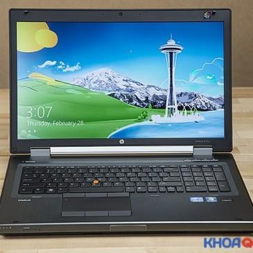 Laptop HP workstation 8770w chuyên dùng cho đồ họa
