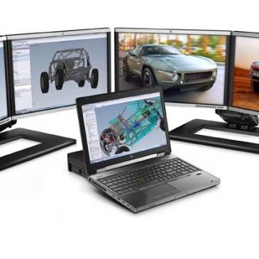 Mẫu laptop HP workstation 8760w chuyên cho đồ họa