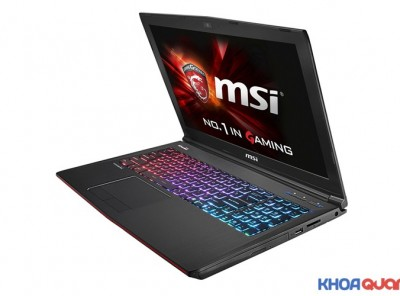 MSI Gaming GE62 2QD ( Core I7 5700HQ – Ram 16 – HDD 1T – GTX 960M 2G – 15″ – FHD) Like New