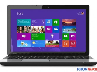 Toshiba satelite L55-B5267 (Core I3 4025U – Ram 6GB – HDD 750GB -15″ – HD)