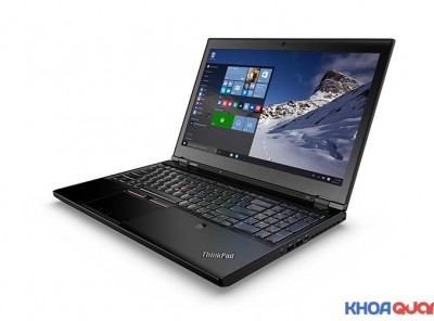 Lenovo Thinkpad P50 ( Core I7 6820HQ – Ram 16G – SSD 256G – 15″ – FHD) Like New