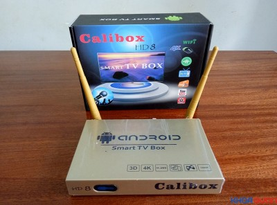 Smart Tv box Calibox HD8 Biến TV thường thành Smart TV