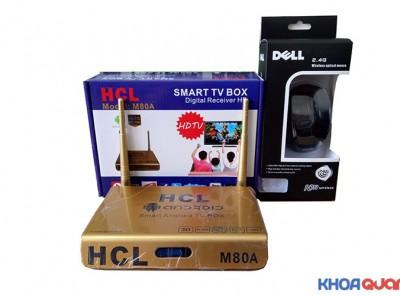 Smart Tvbox HCL M80A Tặng – chuột không dây