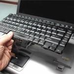 Cách khắc phục bàn phím laptop bị hỏng
