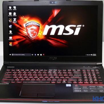 Đánh giá hình thức và bàn phím laptop MSI GE62VR 6RF