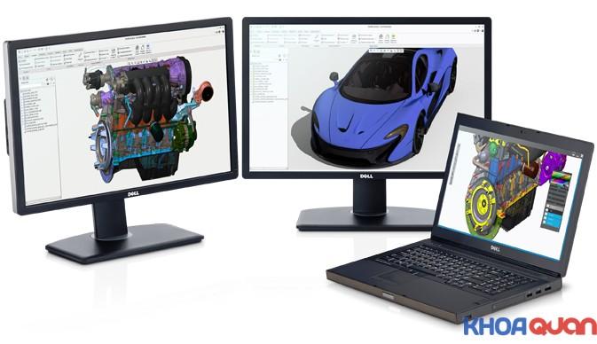 Nhận xét về laptop Dell M6800 chuyên đồ họa