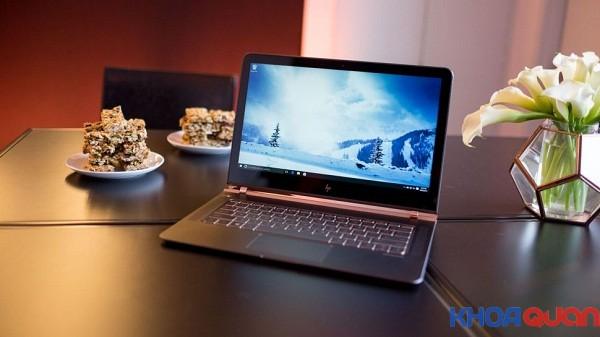 HP Spectre 13 – laptop mỏng nhất thế giới