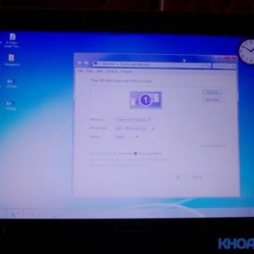 Hướng dẫn cách sửa lỗi màn hình laptop bị nhòe