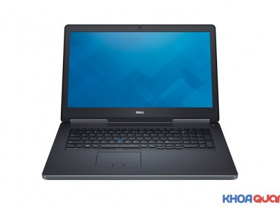 Dell Precision 7720 Core i7 7700HQ Ram 32GB, SSD 512GB M2 + HDD 1TB, Vga Quadro M5000M 8GB, 17.3″ FHD