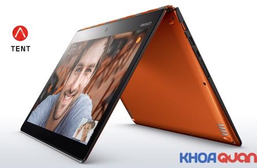Hãng Lenovo ra mắt laptop lai cao cấp Yoga 900