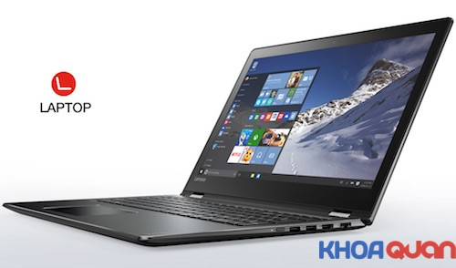 Hãng Lenovo trình làng laptop xoay 360 độ