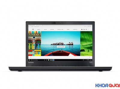 Lenovo ThinkPad T470 ( Core I7 7600U – Ram 8G – SSD 256 – 14.1″ – FHD) Máy đẹp