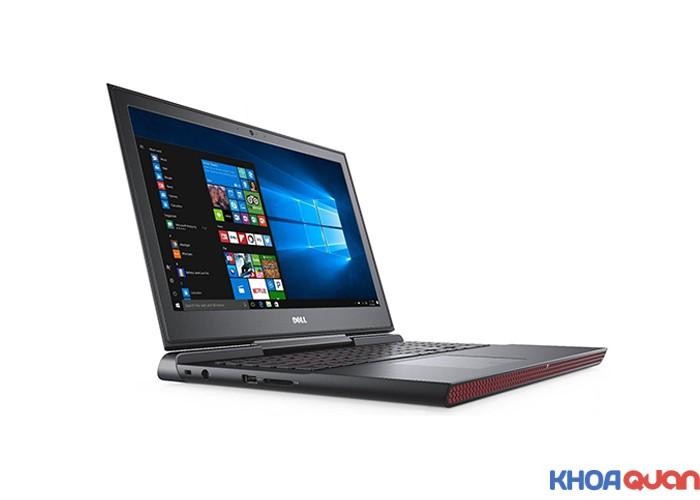 "Dell Inspiron 7567 (Core i7-7700HQ Ram 16G - SSD 256 - 15.6"" - FHD - GTX 1050)"