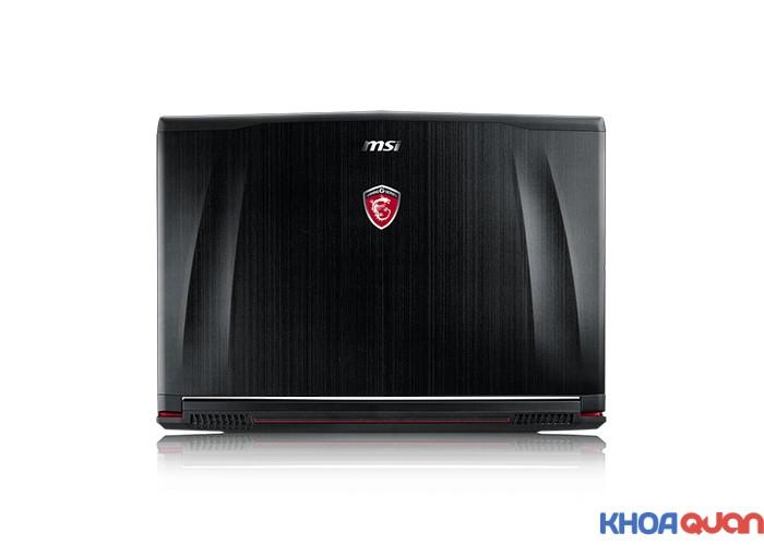"""MSIGE72-6QD (Core I7 6700HQ - Ram 16G - HDD 1T + SSD 128 - GTX 960M - 17.3"""" - FHD)"""