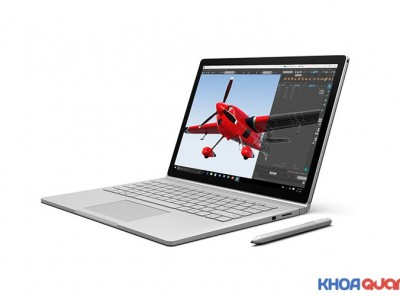 Surface Book (Core i7 6600U – Ram 16G – SSD 512 – GF GPU – 13.4″ – QHD+)