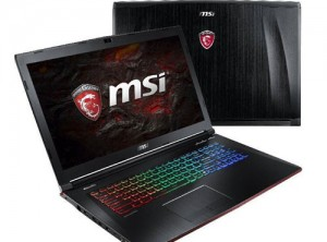 MSI Gaming GE72VR 7RF ( Core I7 7700HQ – Ram 16 -SSD128+ HDD 1T – GTX 1060M 3G – 17″ – FHD)