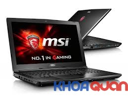 MSI GAMING GL62 7RD Core i7-7700HQ / Ram 8Gb/ SSHD 1Tb/ LCD 15.6in FHD