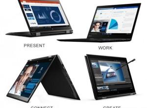 Lenovo Thinkpad X1 Yoga 2017: Core i7-7600U 2.8ghz, Ram 8Gb, SSD 256Gb, LCD 14in IPS FHD Touch like new