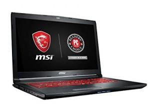 MSI GL72M 7RDX i7  7700HQ 16G SSD 256 HDD 1TB GTX 1050 99%