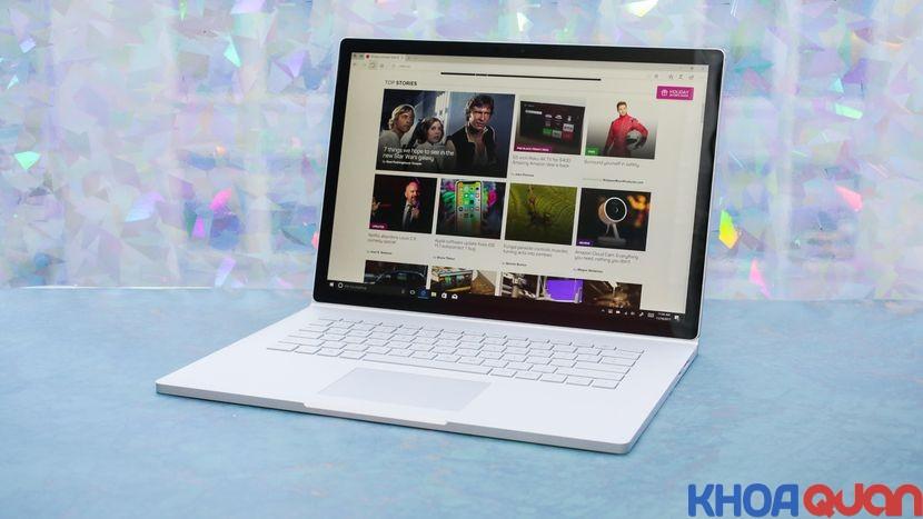 so sánh Surface Laptop và Surface Book