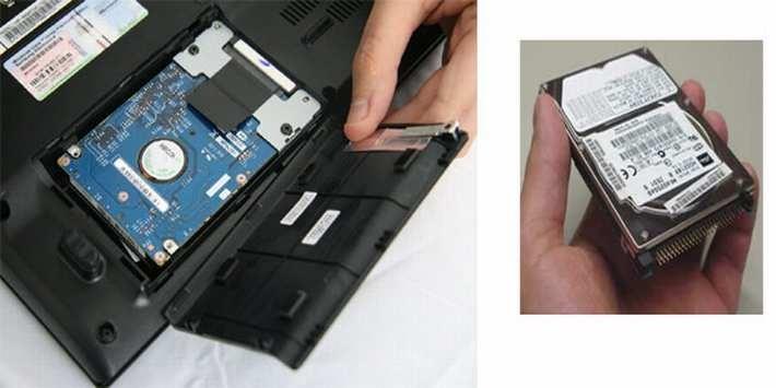 bảo quản ổ cứng laptop