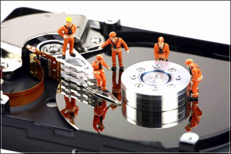 hư ổ cứng laptop