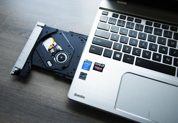 Ổ đĩa laptop không mở được
