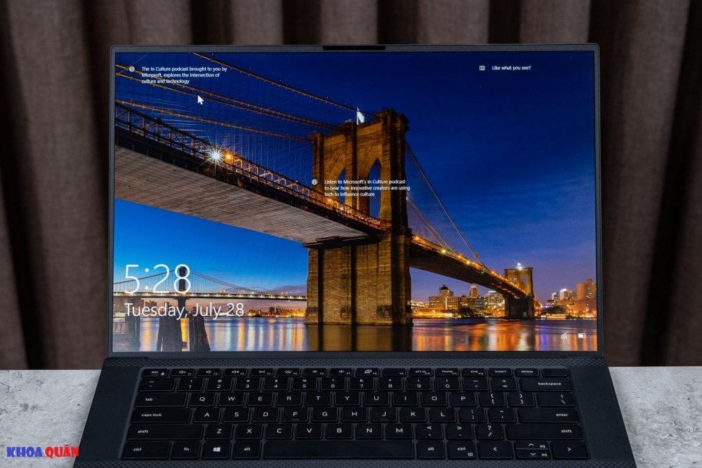 Dell Precision 5550 15 inch máy trạm di động nhỏ nhất