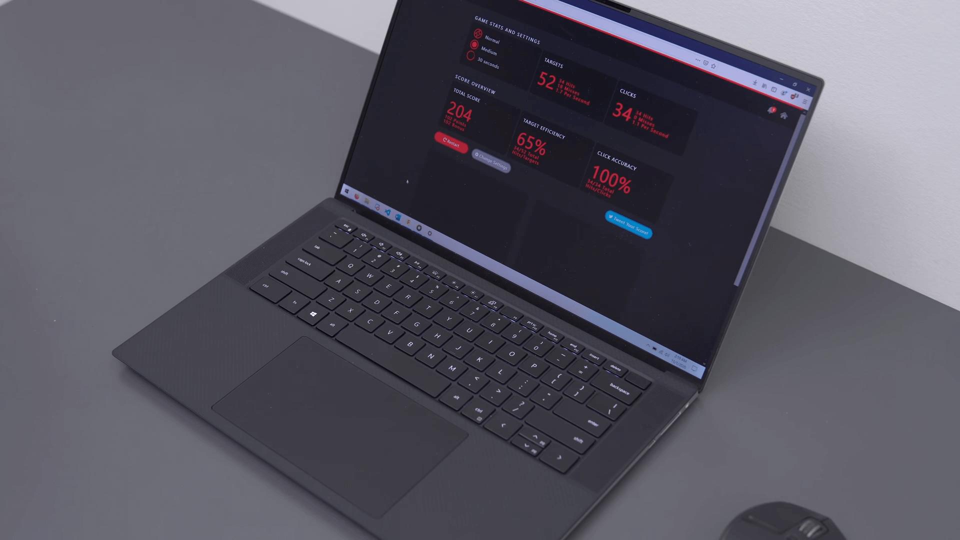 Đánh giá hiệu suất hoạt động của laptop Dell Latitude 9510