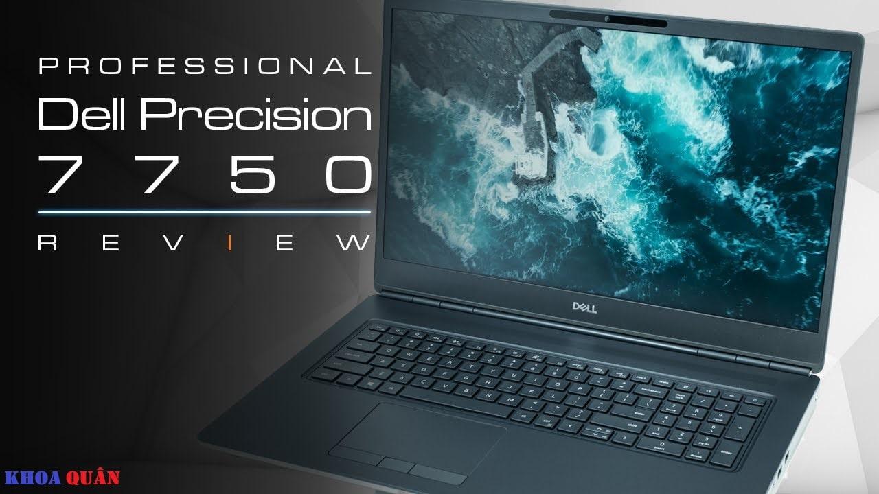 Laptop Dell Precision 7750 Giá Tốt Hàng Chính Hãng Nhập Mỹ