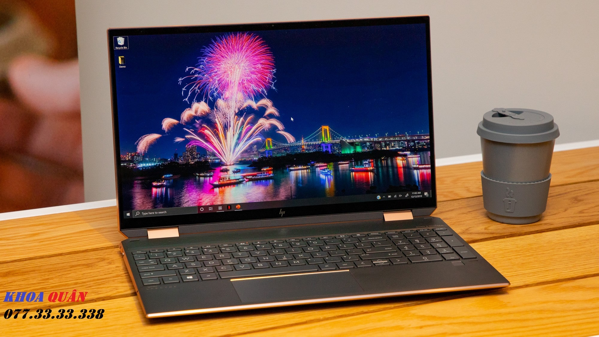 Laptop HP Spectre X360 15 2020