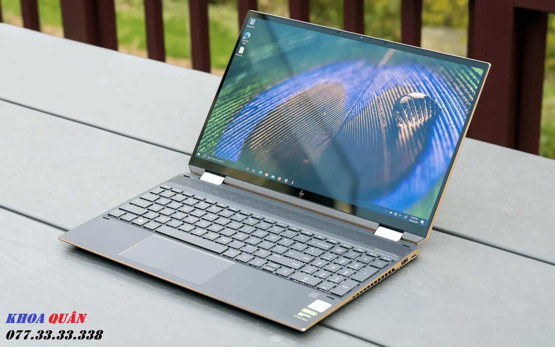 laptop HP Spectre x360 15 inch
